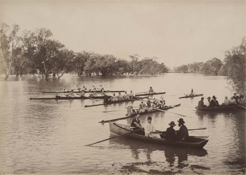 Rowing club, Wilcannia (first view) 1886 image