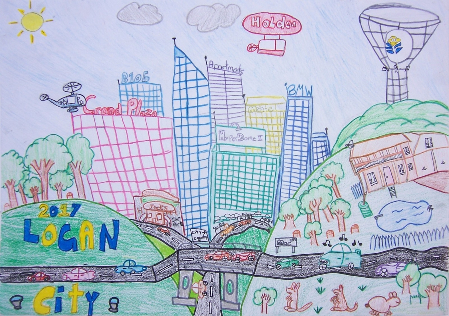 Our City logan in Ten Years image