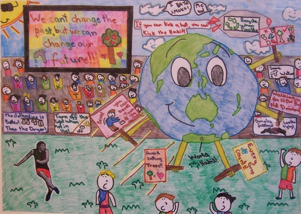 World Environment Day Poster by Jesmine Medina  image