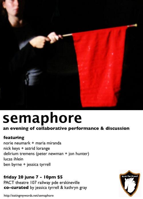 Semaphore Flyer image
