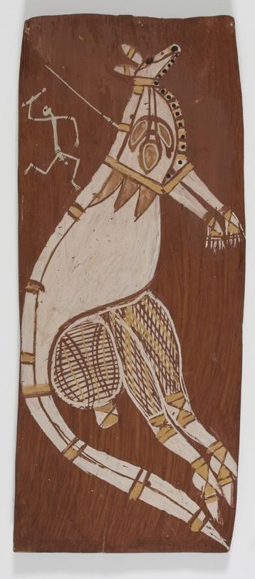 Mimih hunting wallaby image