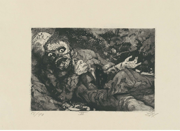 Wounded Soldier - Autumn 1916 Bapaume image