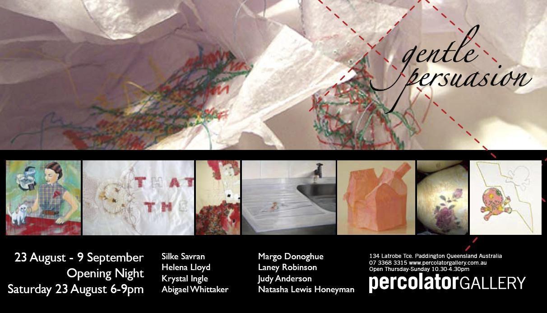 Gentle Persuasion Invite image