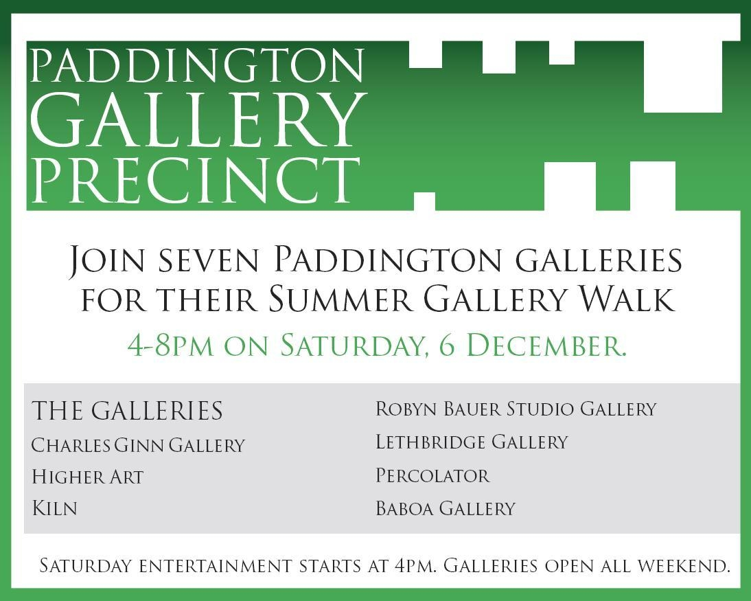 Paddington Gallery Precinct Summer Walk 2008 image