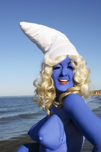 Smurfette (series, self-portrait) image