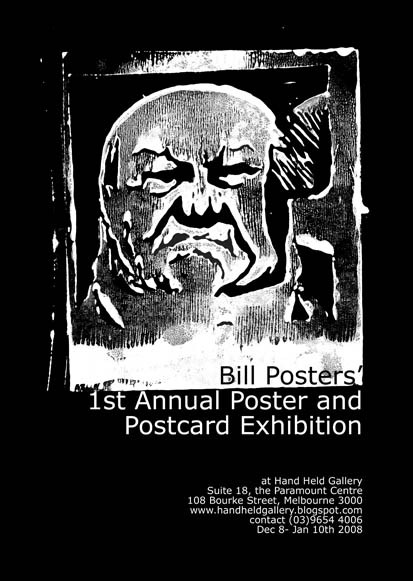 Bill Posters' Poster and Postcard Exhibition image