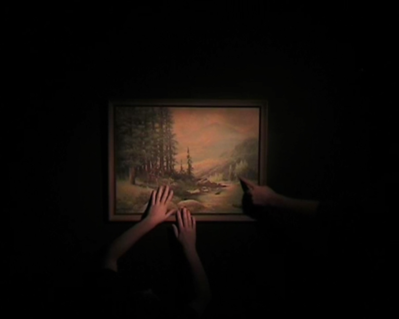 Stroking Painting image