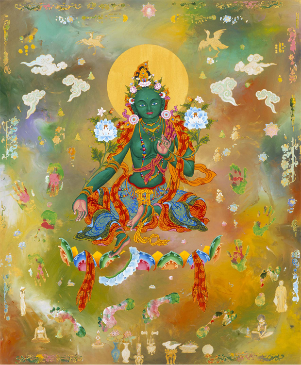 Green Tara image