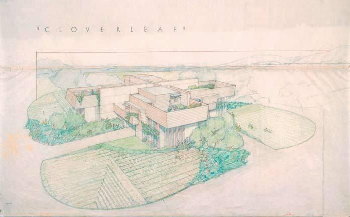 Cloverleaf Quadruple Housing (project) Pittsfield, Massachusetts, 1942 image
