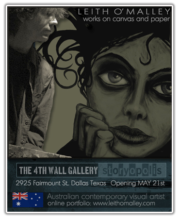 """See O'Malleys work at """"The 4th Wall Gallery"""" image"""