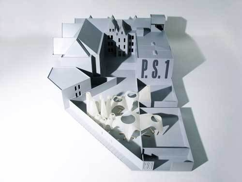 Model of afterparty, the winning project of the 2009 MoMA/P.S.1 Young Architects Program image