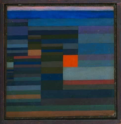 Fire in the Evening, 1929 image