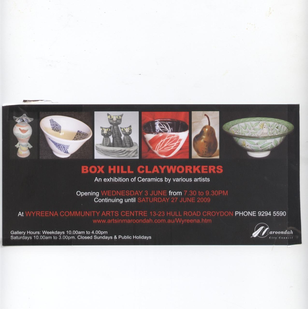 Box Hill Clayworkers image