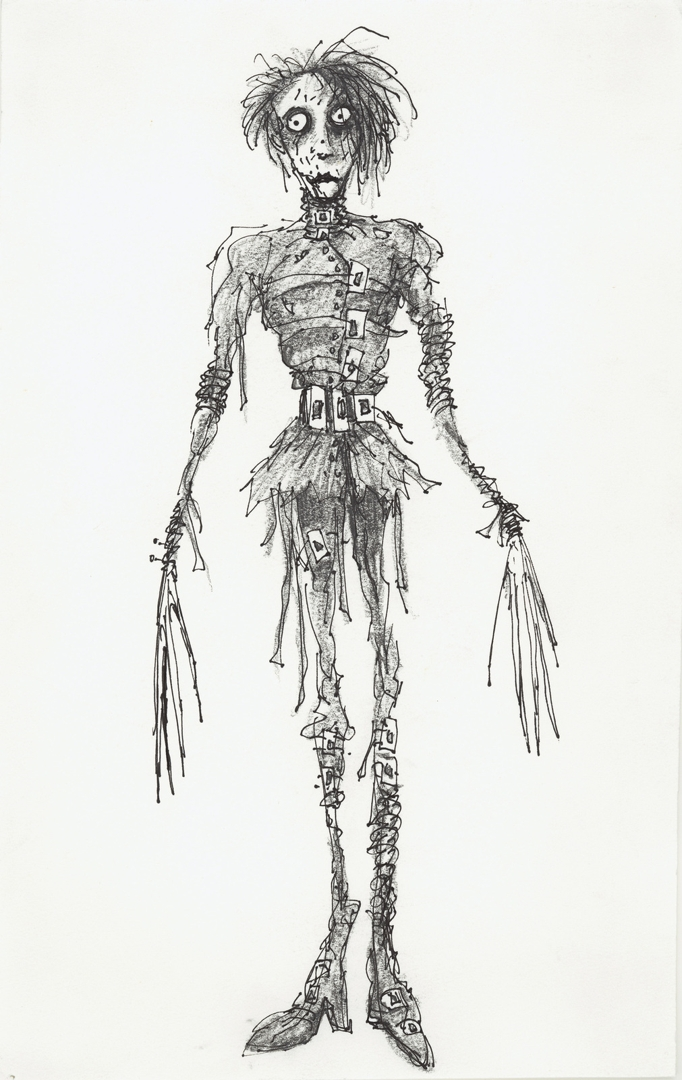 Untitled (Edward Scissorhands). 1990.  image