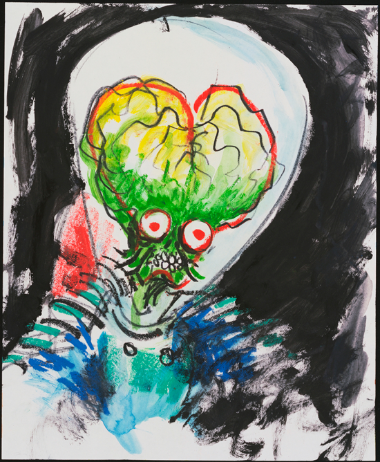Untitled (Mars Attacks!). 1995  image