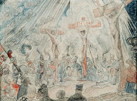 Calvary. 1886 image