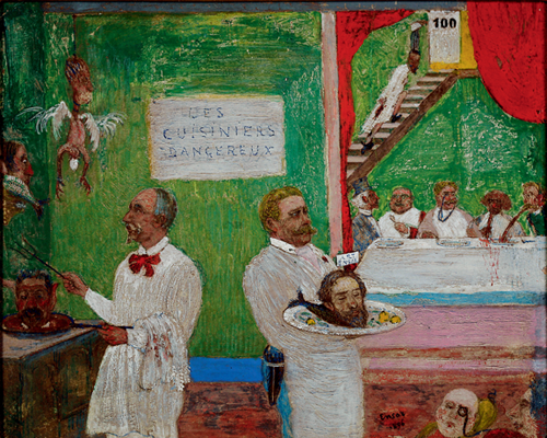 The Dangerous Cooks. 1896 image