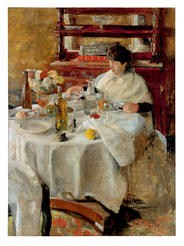 The Oyster Eater. 1882 image