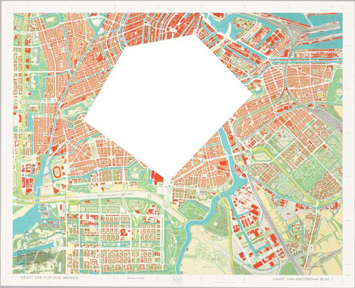 Map of Amsterdam with the Area Between Emma-Plein, Europa-Plein, Ooster Park, Nieuwmarkt, and Bus St image