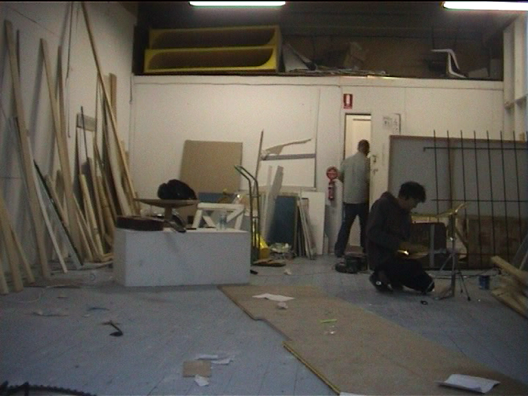 Time-Racing, perfomative installation, 2009  image