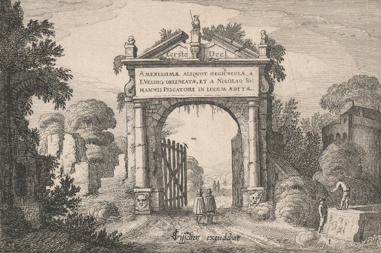 An antique gate 1616 image