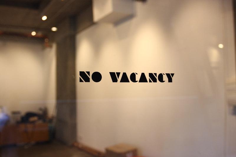 No Vacancy image