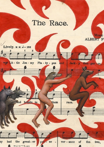 The Race image