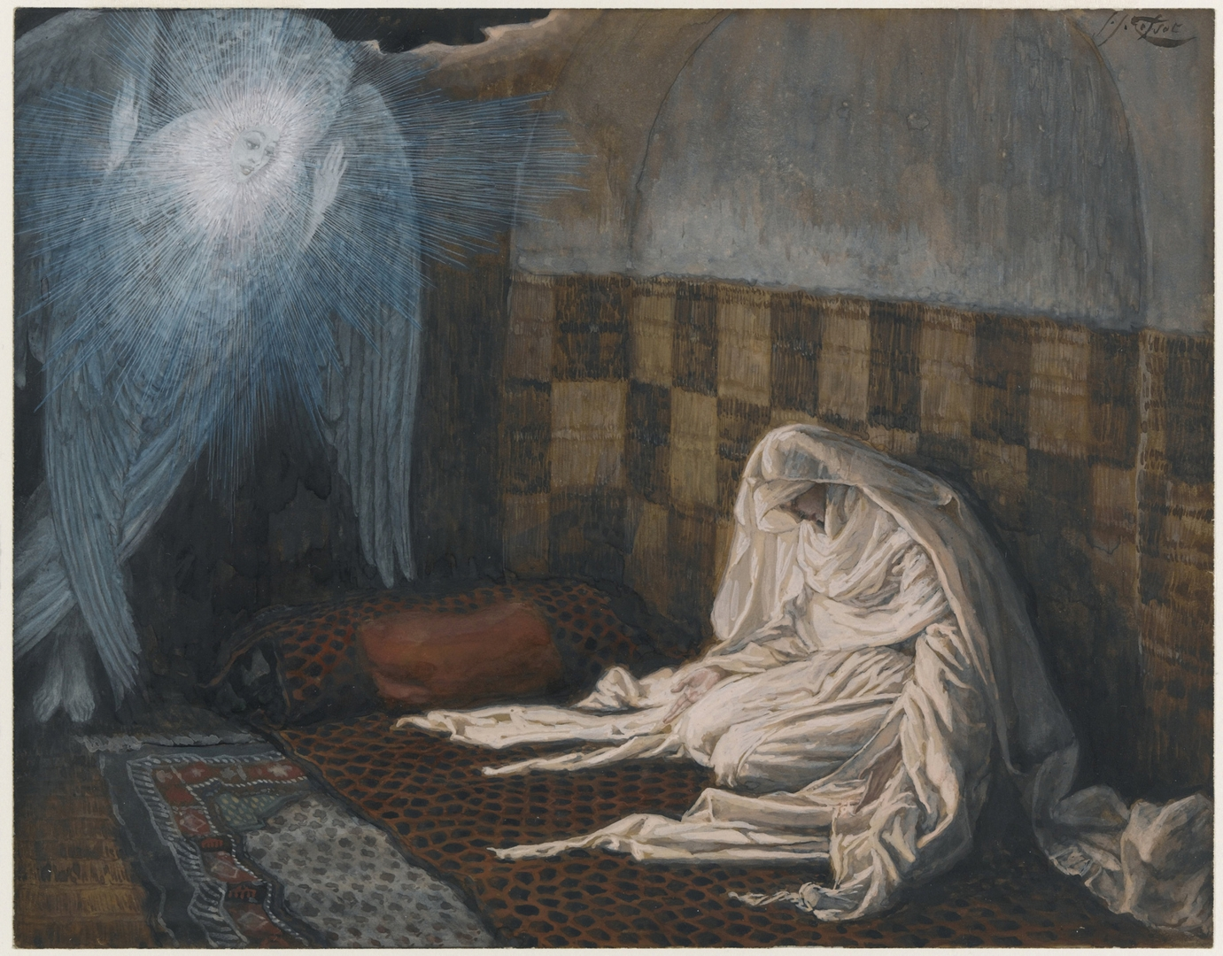 The Annunciation[i/], 1886-94 image