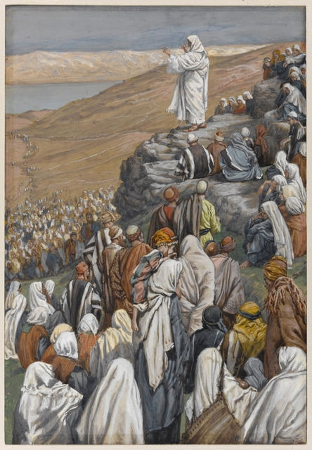 The Sermon of the Beatitudes, 1886-96 image