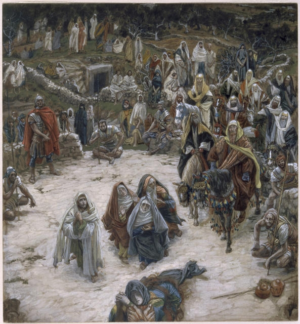 What Our Lord Saw from the Cross, 1886-94 image