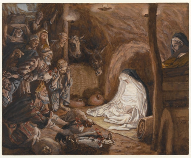 The Adoration of the Shepherds, 1886-94 image