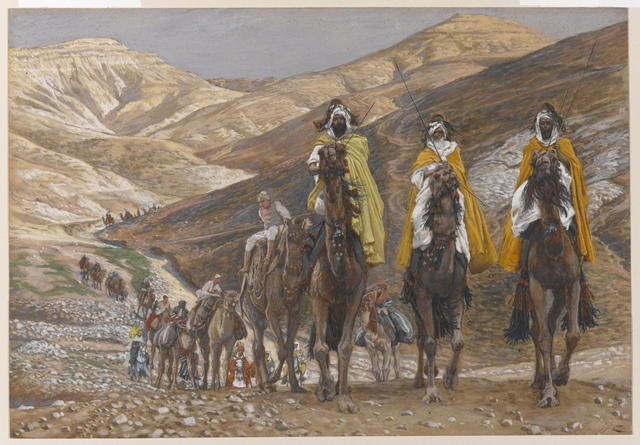 The Magi Journeying, 1886-94 image