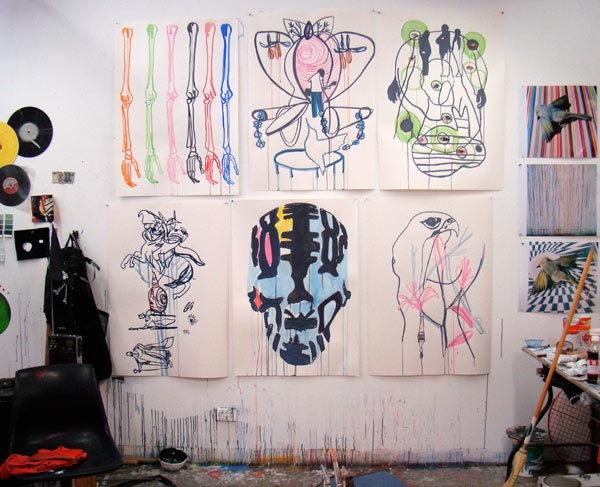 Paul Sloan - studio image
