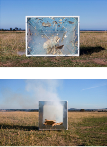 My Burnt Frost, (Explosion Event) # 2 and #3, 2008 image