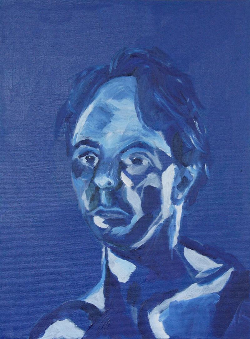 Portrait by Alf Clark image
