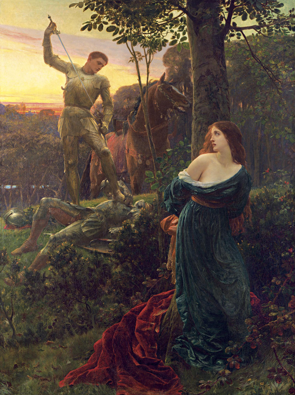 Chivalry, 1885 image