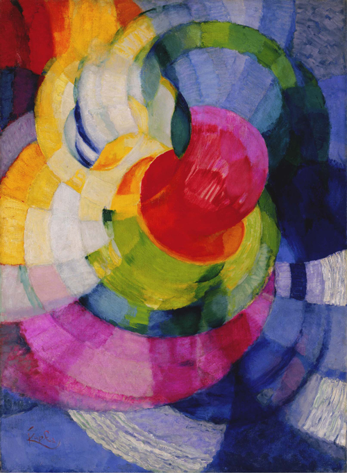 Discs of Newton (Study for 'Fugue in two colours') 1912 image