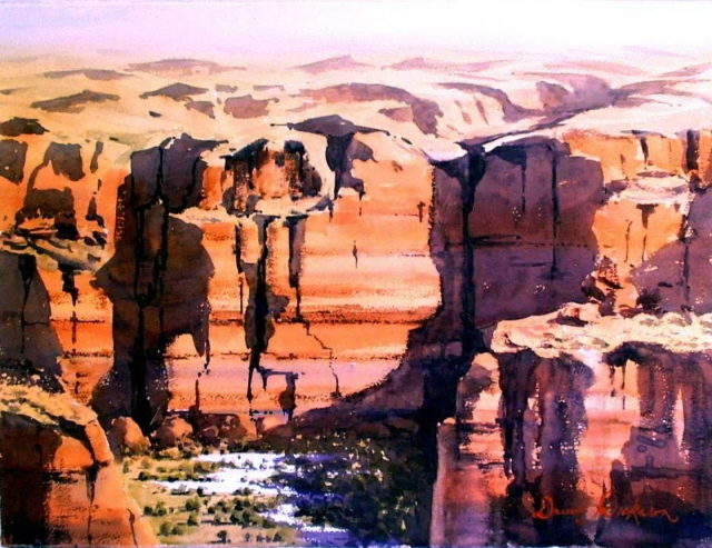 Cathedral Gorge image