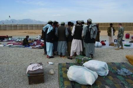 Afghan National Army Observation Post #4, Tarin Kowt, Uruzgan Province, Afghanistan  2007–09 image