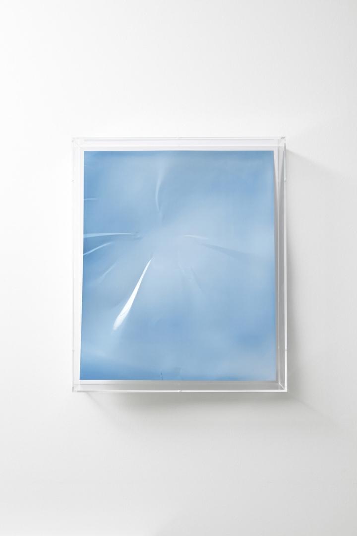Lighter, blue concave I  image