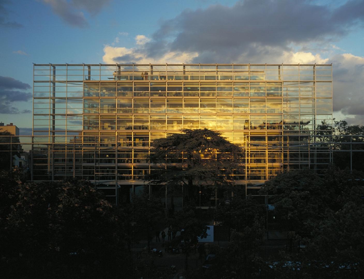 Fondation Cartier pour l'art contemporain, Paris, 1991-95 image