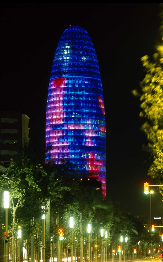 Agbar Tower, Barcelona, 1999-2005 image
