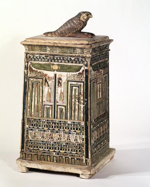 Canopic chest Ca. 380-30 B.C.E. image