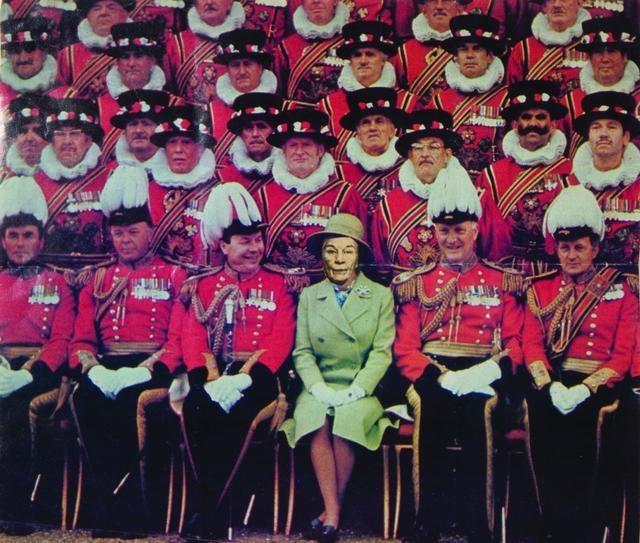 Ridiculous Portrait (Queen Elizabeth), c.1965-72 image