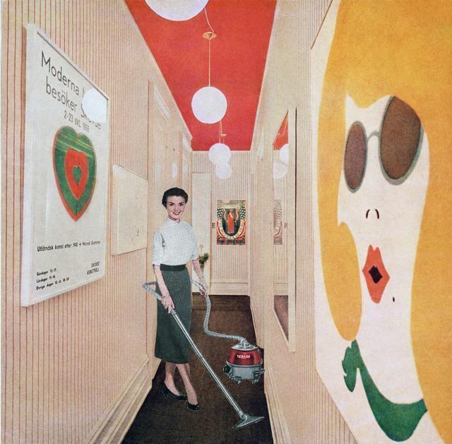 Vacuuming Pop Art, 1967-72 image