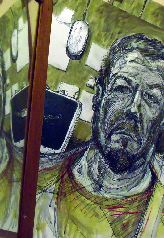 Self Portrait, Red TShirt image