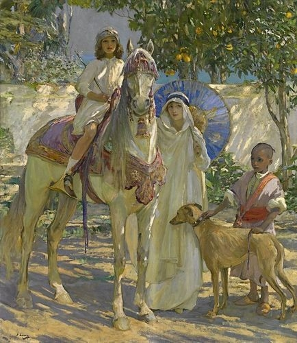 In Morocco c.1913 image