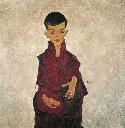 Portrait of a Boy I (Herbert Rainer) 1910 image