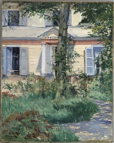 The house at Rueil 1882 image