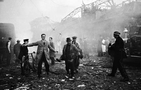 V2 Bombing London image